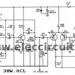2N3055 amplifier circuit, 30w OCL integrated amp  with PCB