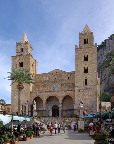 The Cathedral of Cefalù is one of the most impressive monuments of the Norman age in Italy.