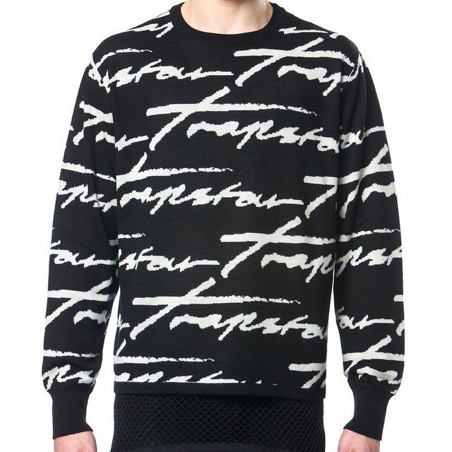 Fancy   Signature Knit Sweater by Trapstar   Daily. 119 best For men like me   Clothing images on Pinterest   T shirts