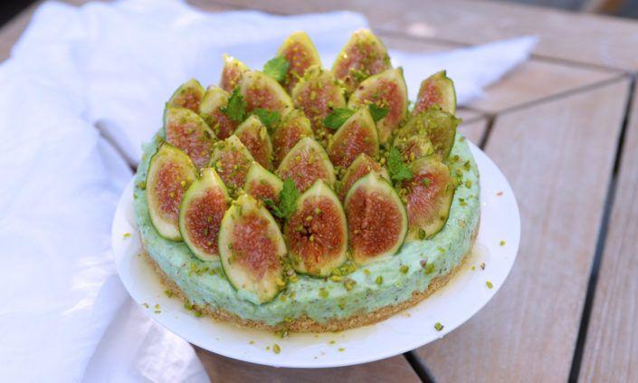 Cheesecake gluten free al pistacchio