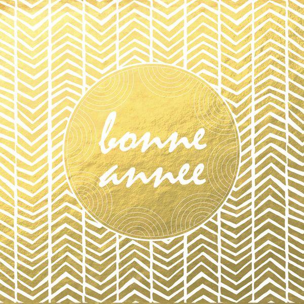 Bonne Annee I Melanie Pennell Design