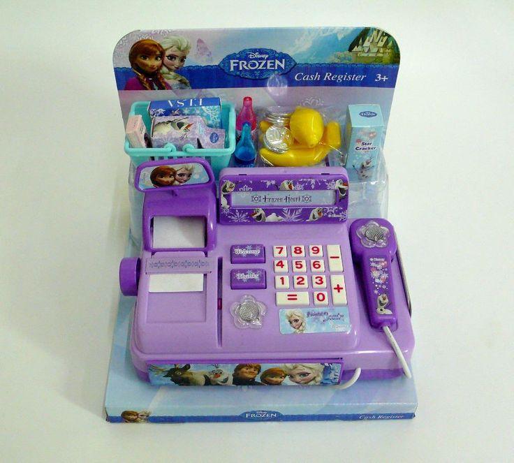 Frozen DSN Authentic Hong Kong Children's Play Toys Caixa Registradora Brinquedo Dollhouse Miniature Brinquedos Meninas, $14.46 | DHgate.com
