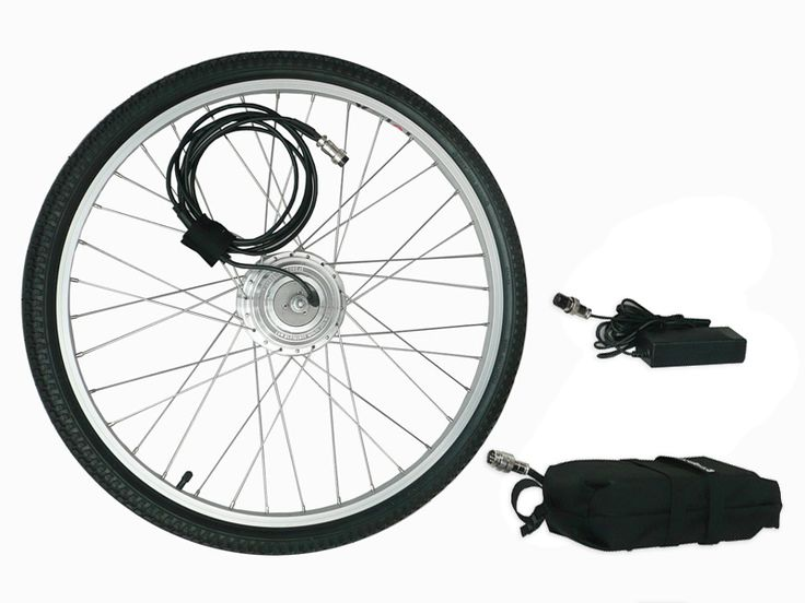Clean Republic Hill Topper Electric Bicycle Conversion Kit. $499 (Li-Ion Battery) / $399 (Lead Acid Battery)