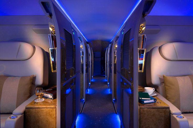 Emirates Executive is the latest luxury private jet. Plane 3. long haul flights on  Armada Blocs Elite VIP plane