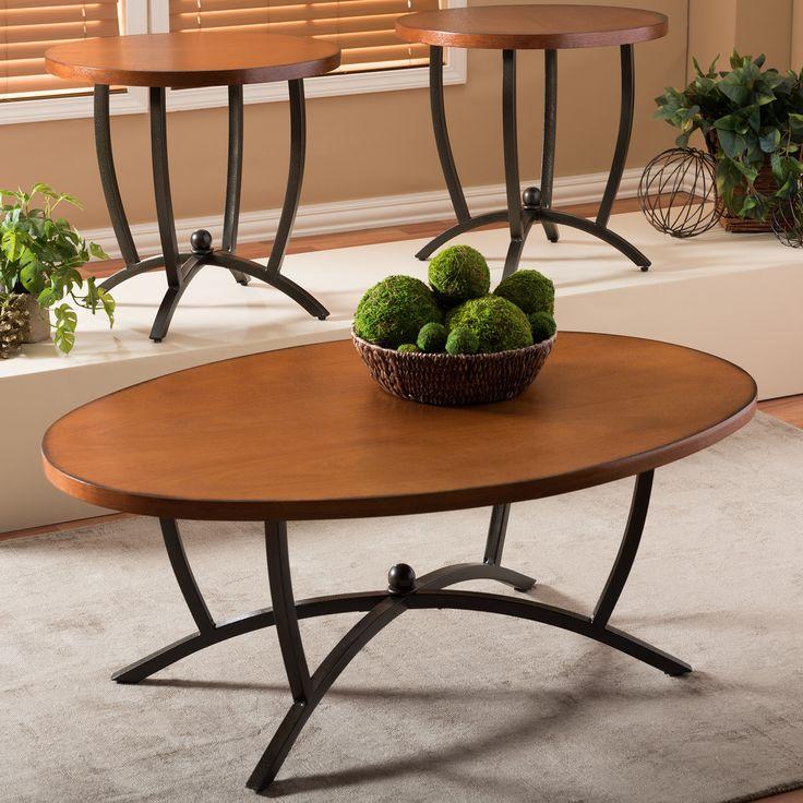 Manchot 3 Piece Coffee Table Set