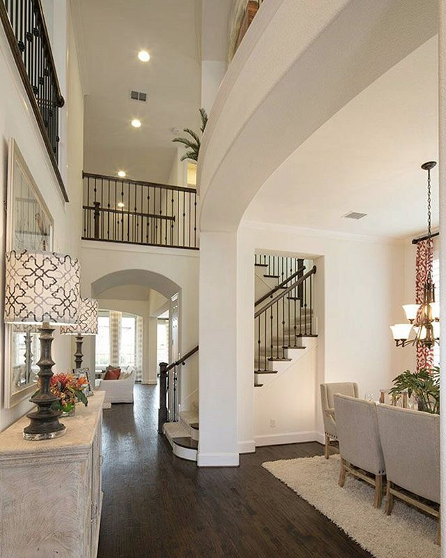 Exceptional home design by Highland Homes #elegant #house #interior #lighting #cozy #decor #decoracao #staging #interiordesign #decoracion #casa #chandelier #luxury #photooftheday #ceiling #instalike #style #builder #likeforlike #follow4follow #homedecor #interiorlovers #beautiful #picoftheday #homelovers #modern #homedesign #friday #realestate #entryway