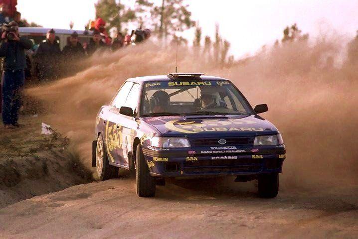 Subaru Legacy rally car - Group A