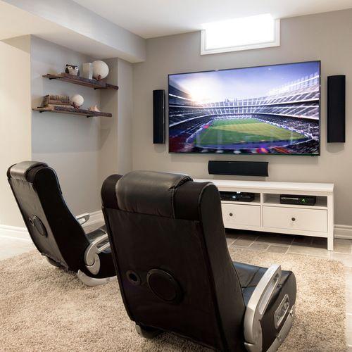 Contemporary Game Room Home Design, Photos & Decor Ideas