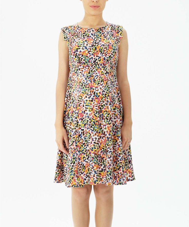 Multi Coloured Camouflage Print Dress - Occasionwear - Mamas & Papas