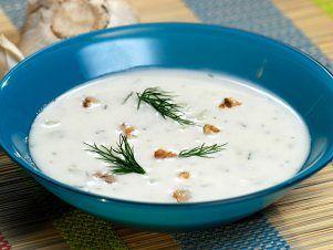 Tarator – bílá studená polévka — Kluci v akci — Česká televize