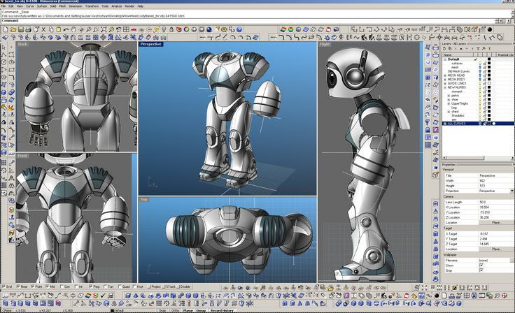 CAD Modeling process for the toy robot Cody for the movie Robosapien Rebooted
