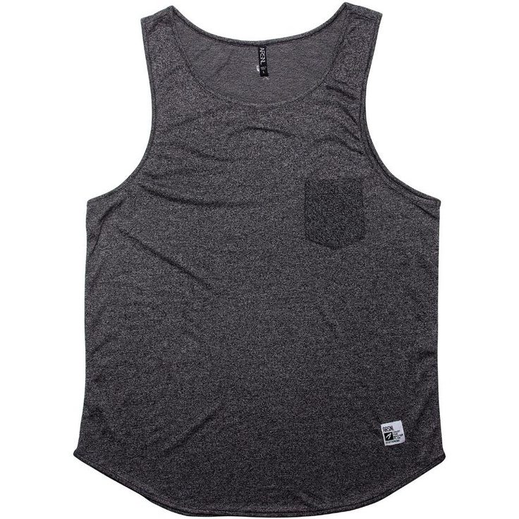 ARSNL Zed Tank Top in a charcoal speckle: Charcoal Speckl, Arsnl Zed, Apparel Artt4051Cht, Tank Tops, Tanks Tops, Tops Charcoal, Authentic Apparel, Zed Tanks, Speckl Tanks