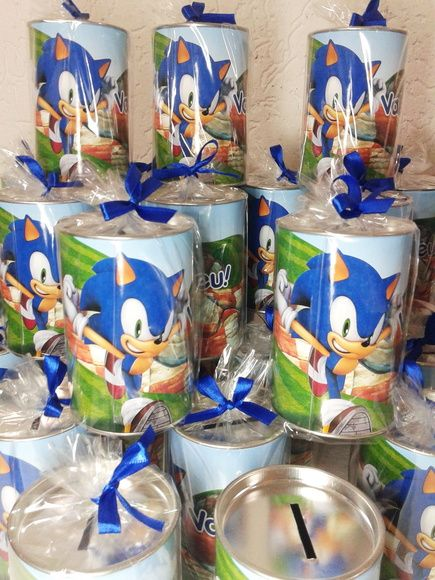 Cofrinho Sonic