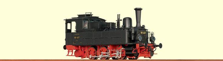 Паровоз BR 89 BRAWA Арт.40034.Масштаб НО (1:87). Паровозы H0 (1:87) - Модели железных дорог и поездов