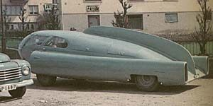 Sigvard Berggren's 'Future' Car, Sweden 1951