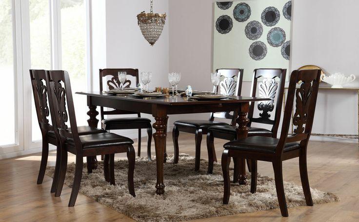 Black Wood Dining Room Set Awesome Decorating Design