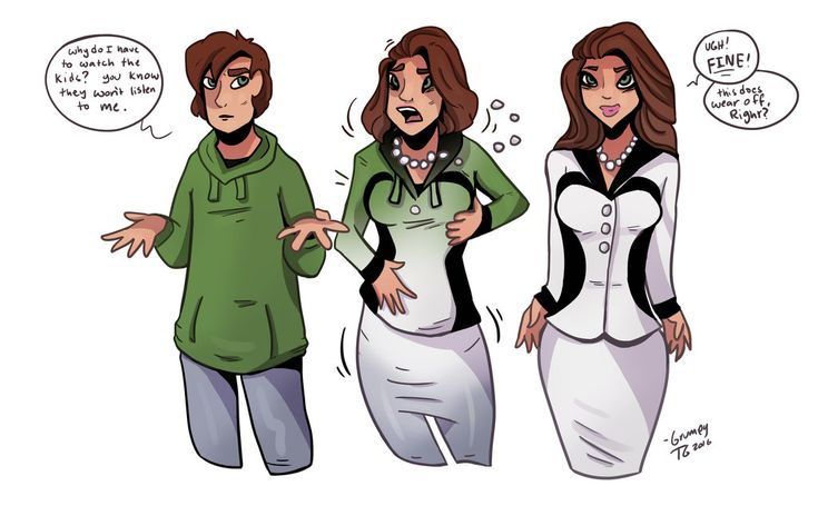 Maternal Figure - TG Transformation by Grumpy-TG on DeviantArt
