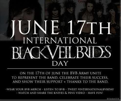 Knives And Pens- Black Veil Brides x