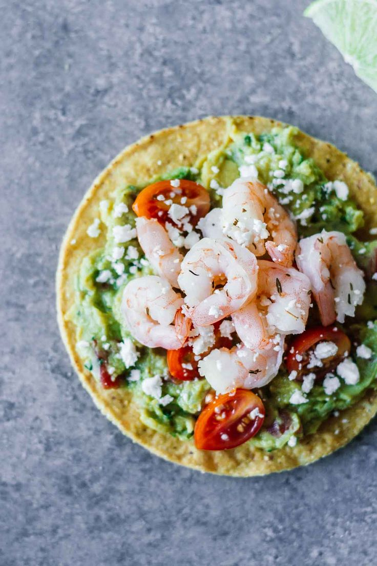 easy appetizer or healthy weekday lunch idea? These Shrimp Guacamole ...