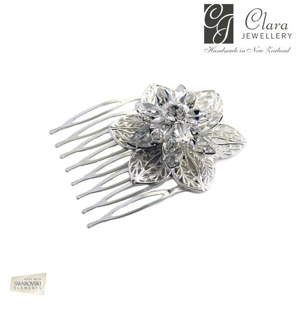 Rose comb- Clara Jewellery