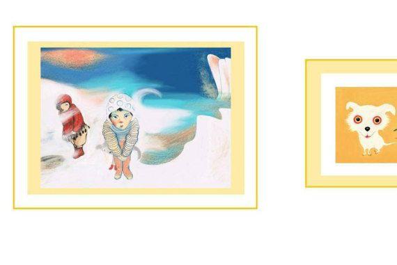 Pole Illustration Art wall Decor home Kids di marilenapasini