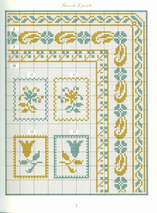 Borders in cross stitch 2