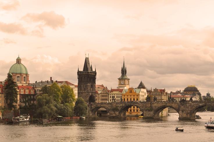 Prague, the capital city