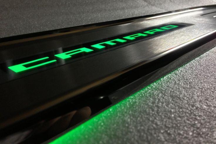 2010 2011 2012 2013 Camaro SS & V6 Illuminated Door Sills