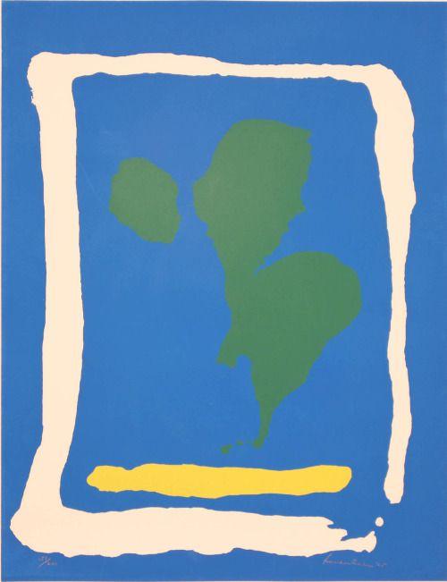 phdonohue: Air Frame, 1965 — Helen Frankenthaler