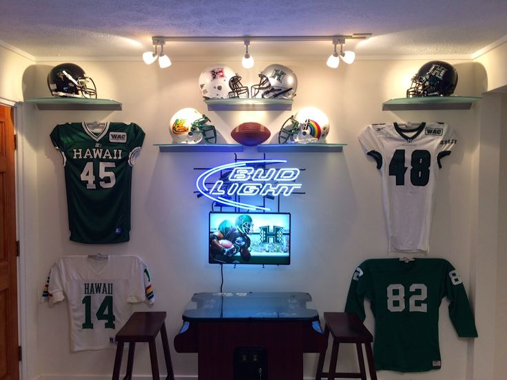 Man Cave Nj : Best images about sports jersey hangers on pinterest