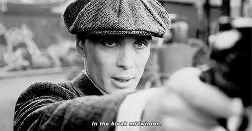 Peaky Blinders. Cillian Murphy.