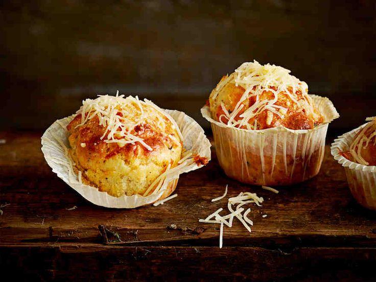 Kolmen juuston muffinit