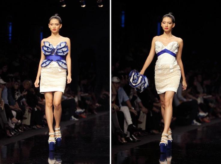 """Magnificent Cloudy"" by Albert Yanuar at Jakarta Fashion Week 2012"