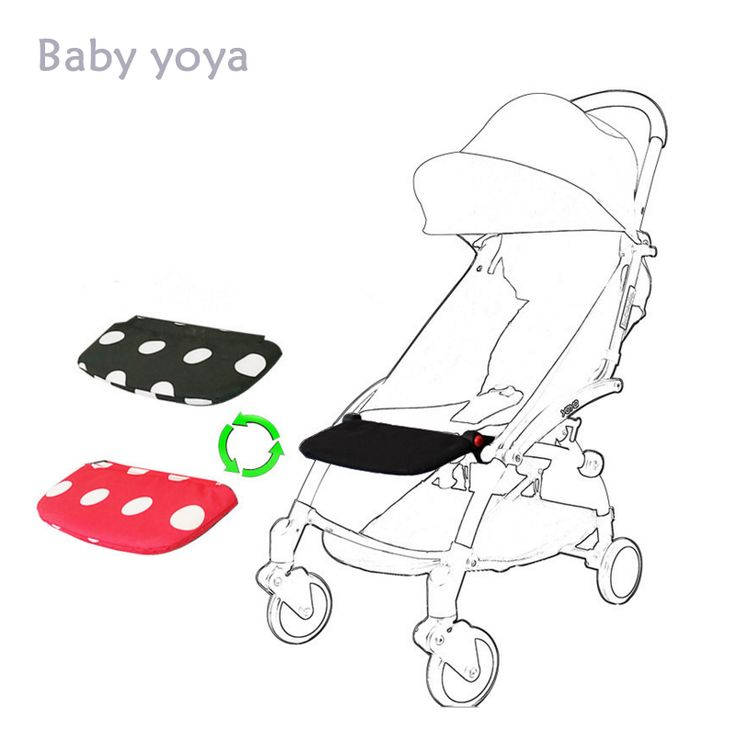 Yoya/Yoyo Baby Stroller Accessories Baby Stroller Footboard Foot Rest For Yoya Stroller Brand Baby Sleep Extend Board 5 Colors //Price: $US $11.77 & FREE Shipping //