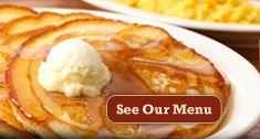 Cracker Barrell....best pancakes ever!!