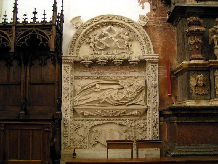 Nagrobek Barbary z Tęczyńskich Tarnowskiej w katedrze w Tarnowie, 1555r., Jan Maria Padowano,