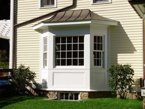Exterior: Wooden Bay Window Designs Remodeling Home House Design Ideas  Modern Room Decor Plans Designs