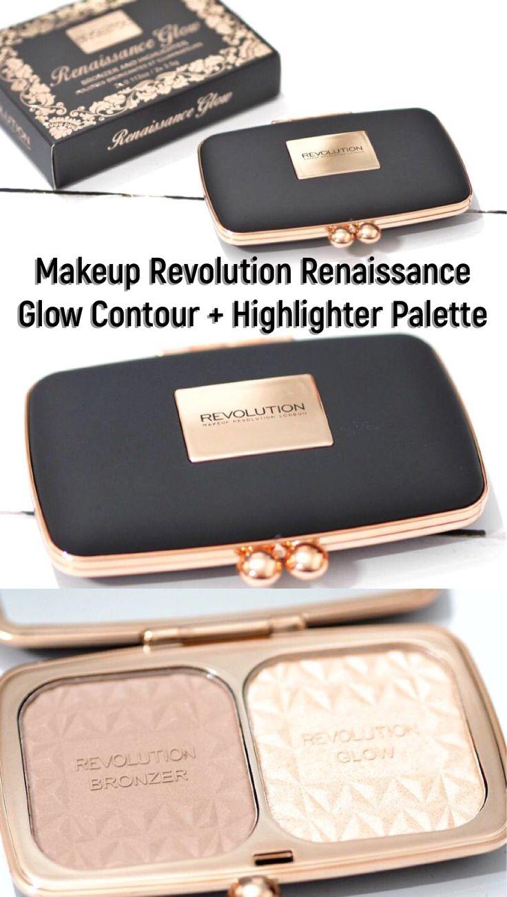 Makeup Revolution Renaissance Glow Bronzer and Highlighter