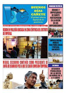 buenosdiascanete.blogspot.com: DIARIO DIGITAL BUENOS DIAS CAÑETE, EDICIÓN 28 NOVI...