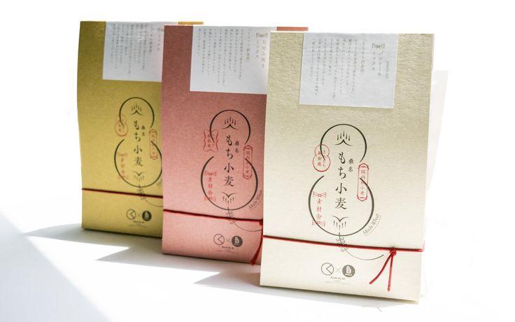 もち小麦 パッケージ, mochikomugi package