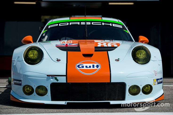 #86 Gulf Racing Porsche 911 RSR : Michael Wainwright, Adam Carroll, Benjamin Barker - Prologue - Photos WEC - Motorsport.com