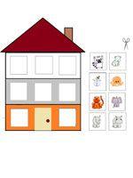 kleurenspel 3 voor kleuters, free printable