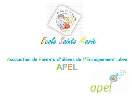 Association de Parents d'élèves de l'Enseignement Libre APEL