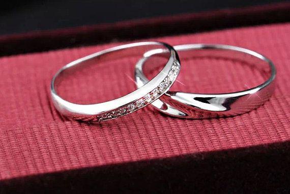 Mediterranean amorous feelings platinum Infinity ring by PRORINGS
