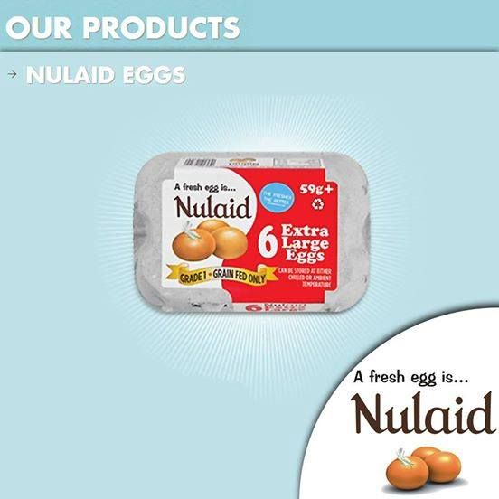 #getusedtogreat nutrition. #Nulaid Farm Fresh graded shell eggs are available in a variety of sizes including jumbo, extra large, large and medium, and come in a 6 Pack; 18 Family Pack; 24 Pack; 30 Pack; 48 Carry Pack and a 60 Carry Pack. For more information on this specific product visit our website at http://apost.link/kk #nulaideggs #fresheggs