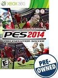 Pro Evolution Soccer 2014 - PRE-Owned - Xbox 360, PRE OWNED