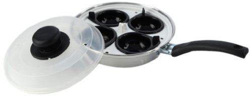 Egg Poacher Pan Set with Removable 4 Egg Poacher 20cm