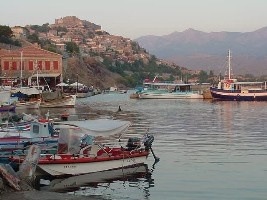 Harbor of Molyvos, Lesvos