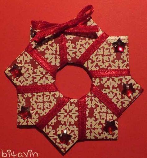 Diese Origami-Sterne sind ganz einfach zu basteln. Material: 8 Papierstücke mit einem Format im Verhältnis 2:1 (also z.B. 4 x 8 c...