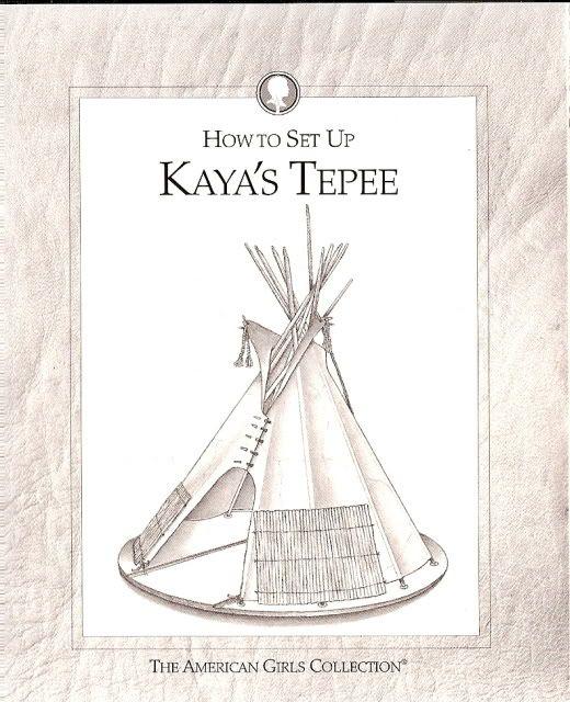 How to recreate Kaya's teepee